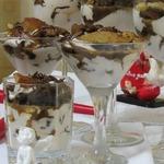 Шоколадный а-ля тирамису с грушей