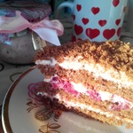 Торт Вишня в шоколаде