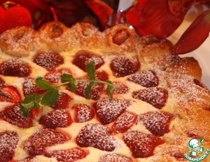 Рецепт: Пирог Трижды любимый