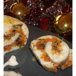 Закусочный рыбный рулет Посейдон