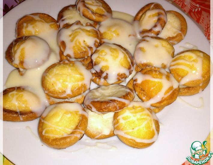 Рецепт: Сушки Пуговички