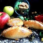 Пирожки с яблоками из цельнозерновой муки