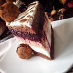 Шоколадный торт-мусс Кофе-черная смородина