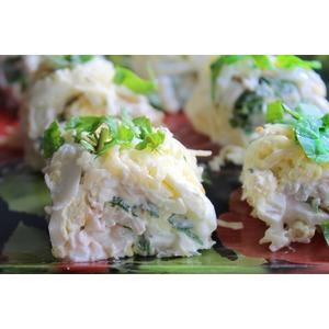 Закусочный салат из кальмаров Моя прелесть