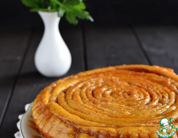 Рецепт: Шотландский спиральный пирог