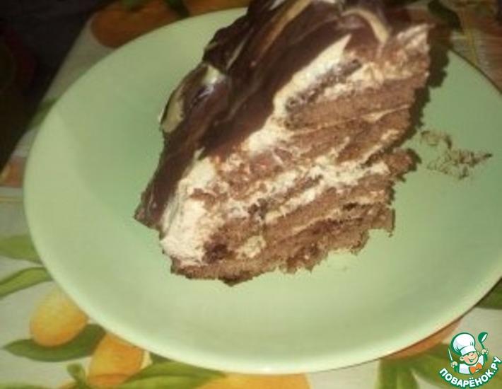 Рецепт: Простой и вкусный торт