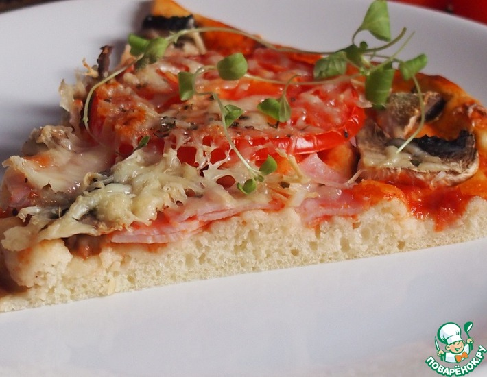 Рецепт: Пицца Молния