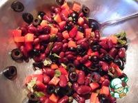 Салат В красных тонах ингредиенты
