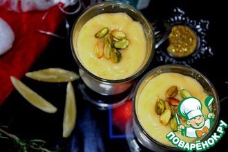 Рецепт: Йогуртовая панна-котта с лимонным кремом
