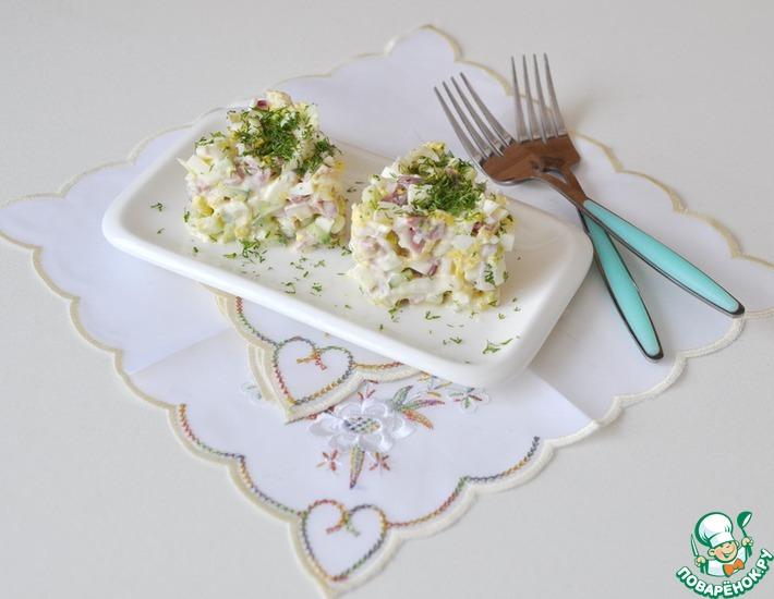 Рецепт: Салат Моника