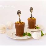 Шоколадно-зефирное мороженое