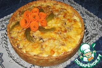 Рецепт: Открытый пирог Неженка
