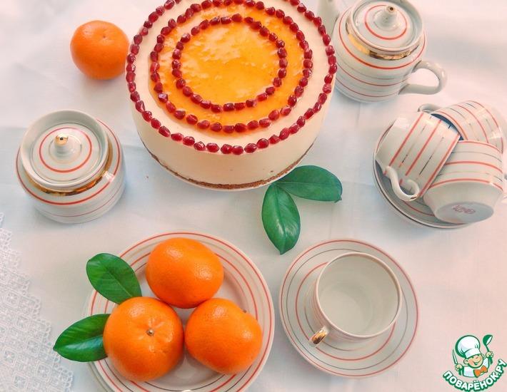 Рецепт: Торт Оранжевое настроение