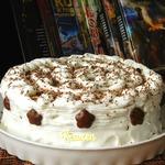 Торт без выпечки Мокко