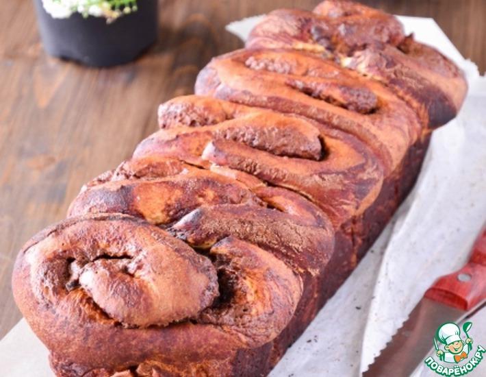 Рецепт: Сладкий хлеб Как донат