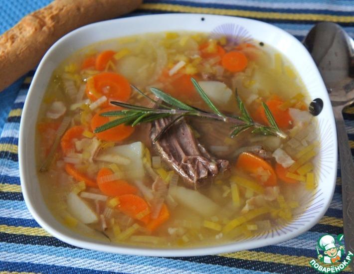 Рецепт: Суп горца