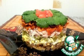 Рецепт: Салат слоеный 5