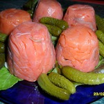 Тимбал из красной рыбы с икрой – кулинарный рецепт