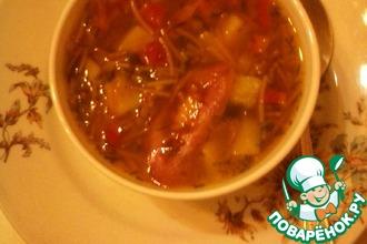 Рецепт: Суп картофельно-вермишелевый