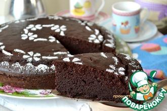 Рецепт: Шоколадный пирог на рикотте
