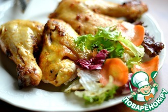 Рецепт: Горячее Курица-не птица