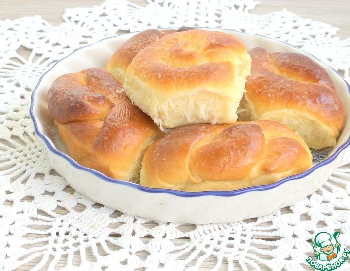 Рецепт: Сдобные булочки от Дарии Цвек