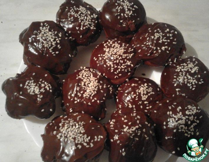 Рецепт: Кексы Шоколадное наслаждение