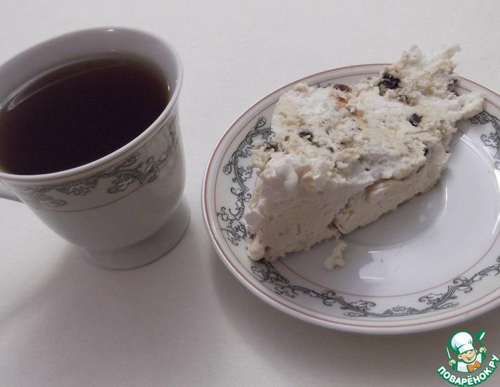 Рецепт: Торт-безе Морозко с секретом