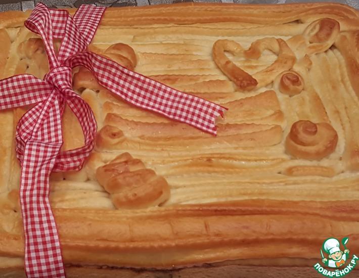 Рецепт: Пирог-второе Для Друзей
