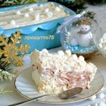 Итальянский холодный десерт Меренгата
