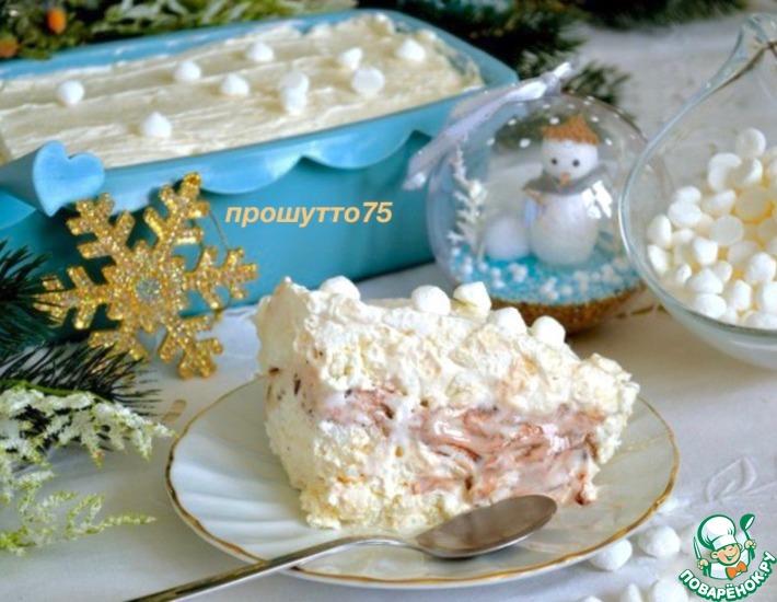 """Итальянский холодный десерт """"Меренгата"""""""
