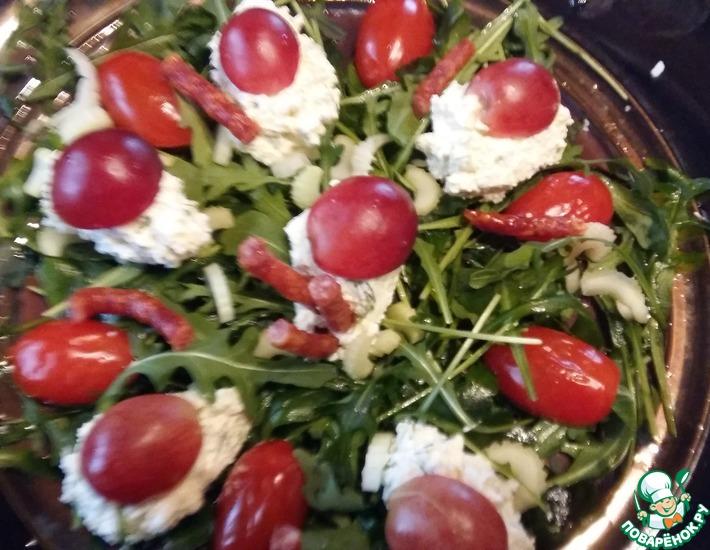 Рецепт: Салат Осень в Лондоне