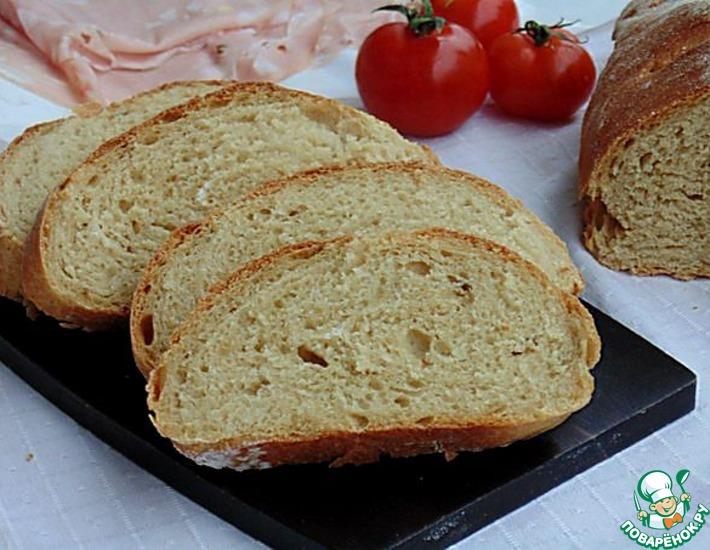 Рецепт: Анисовый хлеб на темном пиве