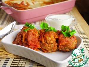Lazy cabbage rolls from Alla Koval'chuk
