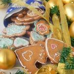 Имбирно-ванильное праздничное печенье