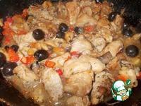 Свинина с маслинами и вешенками ингредиенты