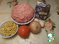 Зразы с кукурузой и рисом ингредиенты