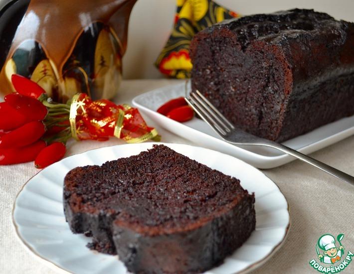 рецепт кекс шоколадный