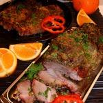Маринованная запеченная свинина по-кубински