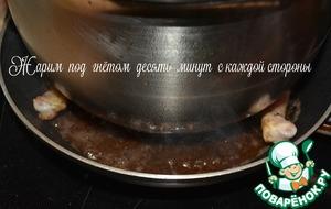 Курица тапака на углях, пошаговый рецепт с фото
