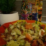 Салат Печень и овощи