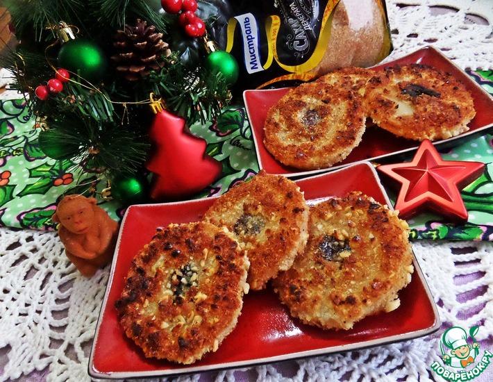 Рецепт: Десертные кольца из ананаса
