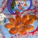 Печенье Новогодние ракушки с предсказаниями