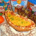 Закуска Новогодняя лодочка