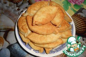 Рецепт: Быстрые пирожки на постном тесте
