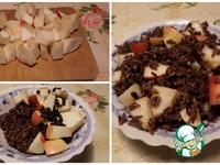Курица, фаршированная рисом, яблоком, барбарисом ингредиенты