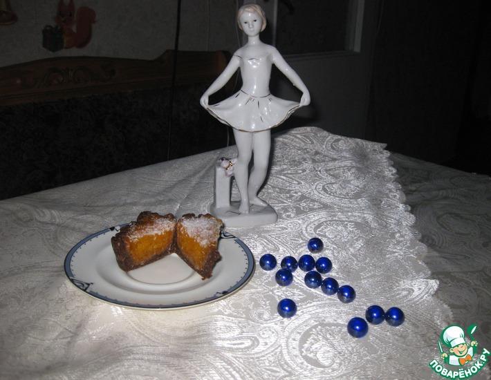 Рецепт: Десерт Янтарный