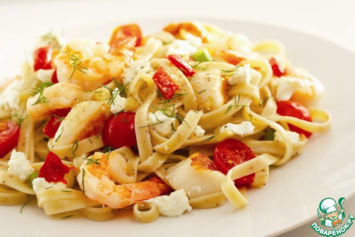спагеттини - рецепты, статьи на