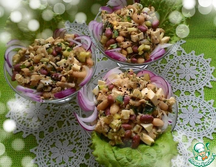 Рецепт: Салат Сюрприз для подружки