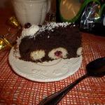 Пирог Снежки в шоколаде